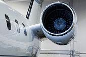 Engine of Executive Jet