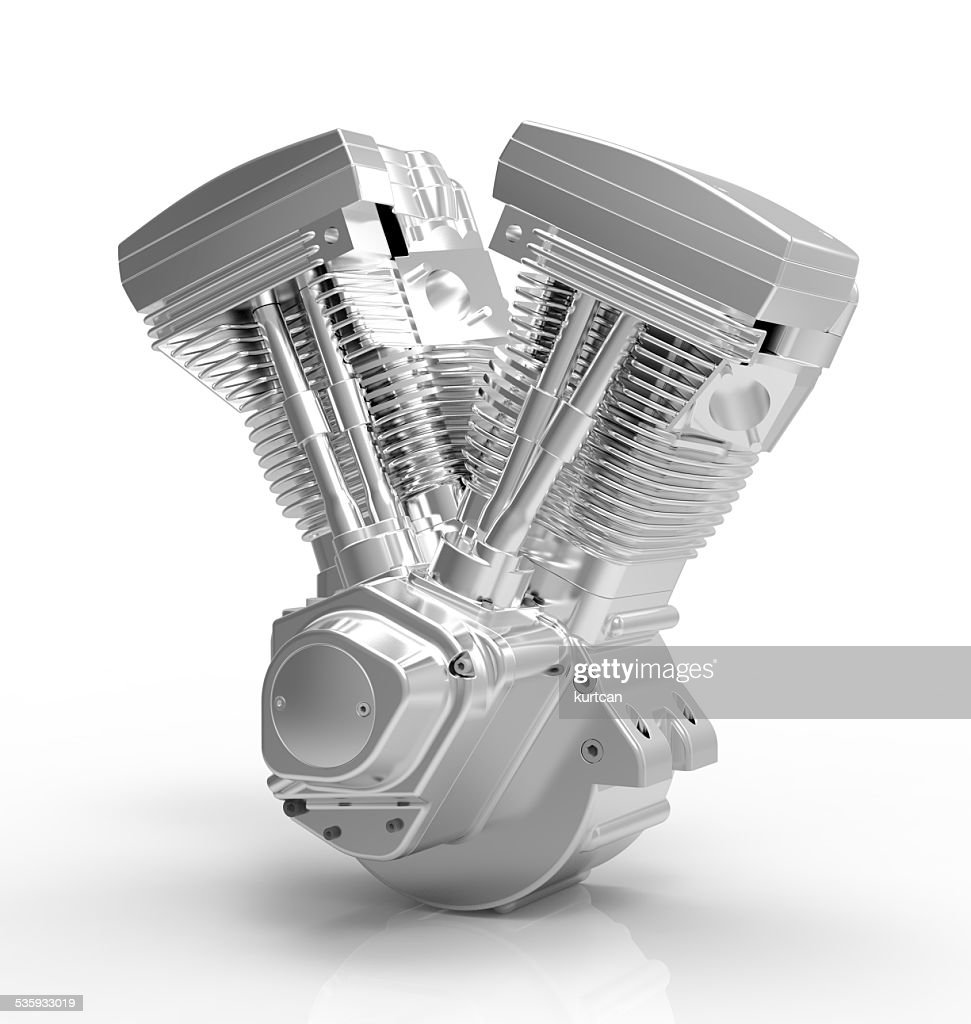 engine on a white background : Stock Photo