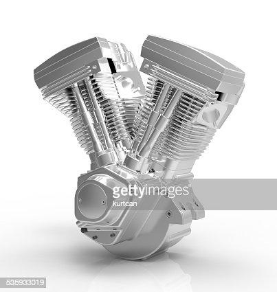 engine on a white background : Stock Photo