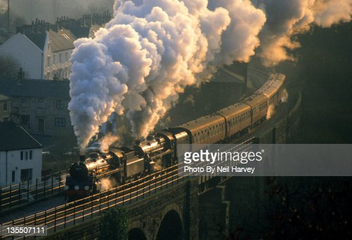 Engine on bridge : Foto de stock
