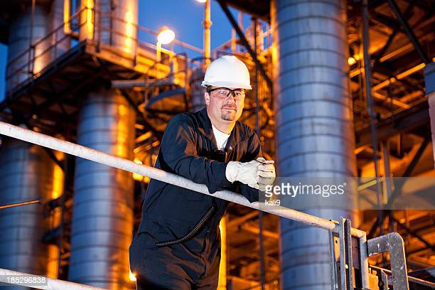 Engineer at chemical plant