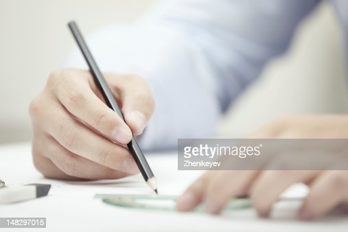 Engineer at office : Stock Photo
