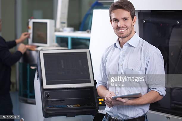 Ingénieur au travail