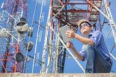 engineer communications check Antennaengineer communications check Antenna