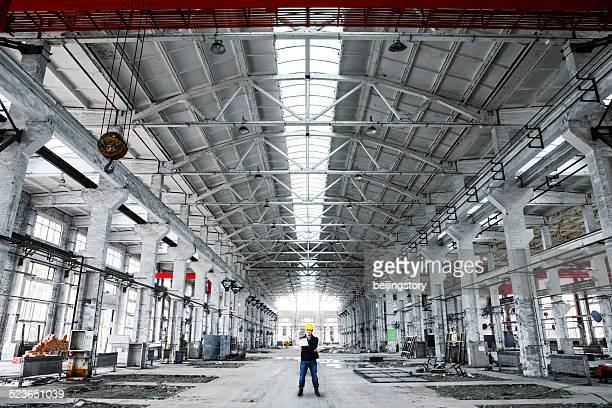 Engineer in Industrial interior