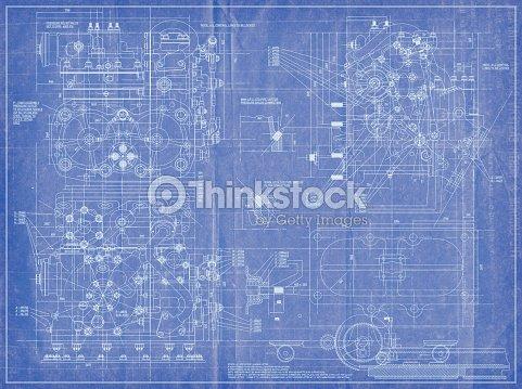 Engineering blueprint stock photo thinkstock engineering blueprint stock photo malvernweather Choice Image