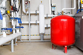 expansion tank heating system