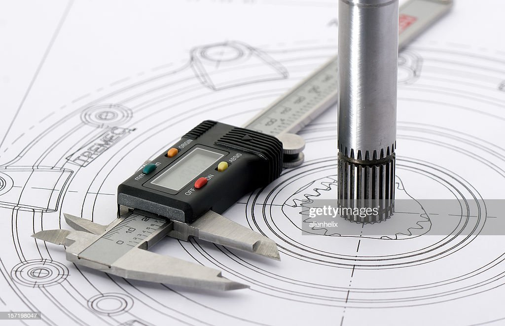 Engineering Drawing : Bildbanksbilder
