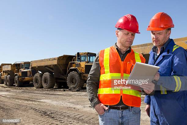 Engineers at a Construction Site