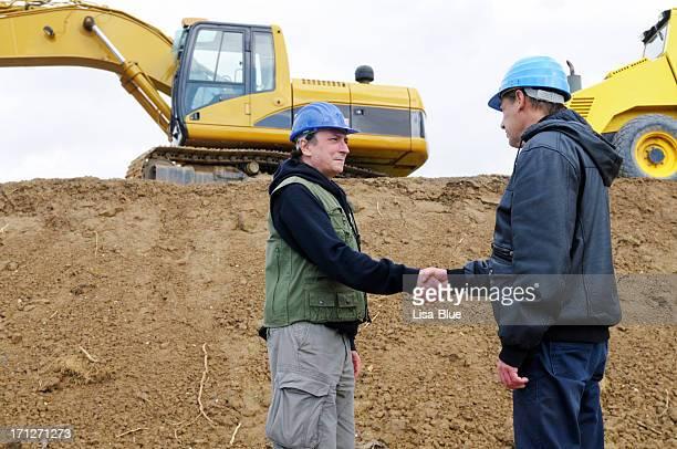 Engineers Handshaking