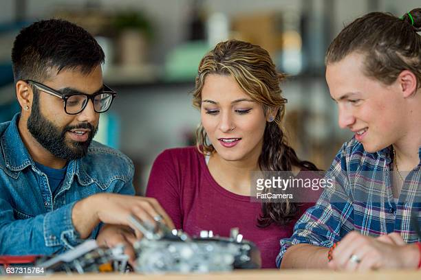 Engineers Working at a Start Up