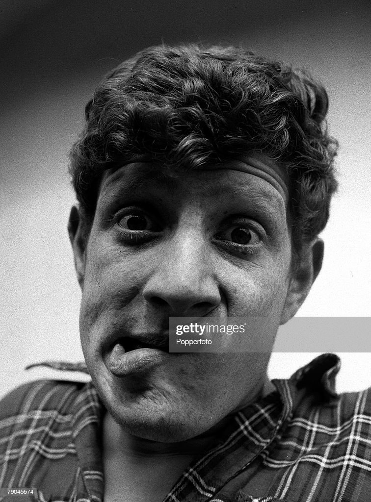 England A portrait of British comedian and actor Jonathan Miller 19 year old Cambridge medical student who is appearing in the Cambridge Footlights...
