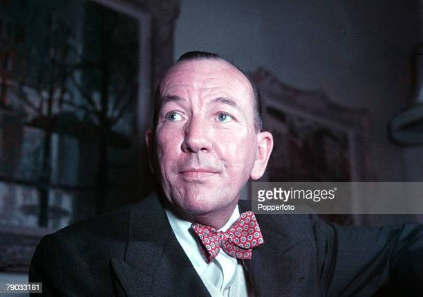 England A portrait of English dramatist actor and composer Noel Coward