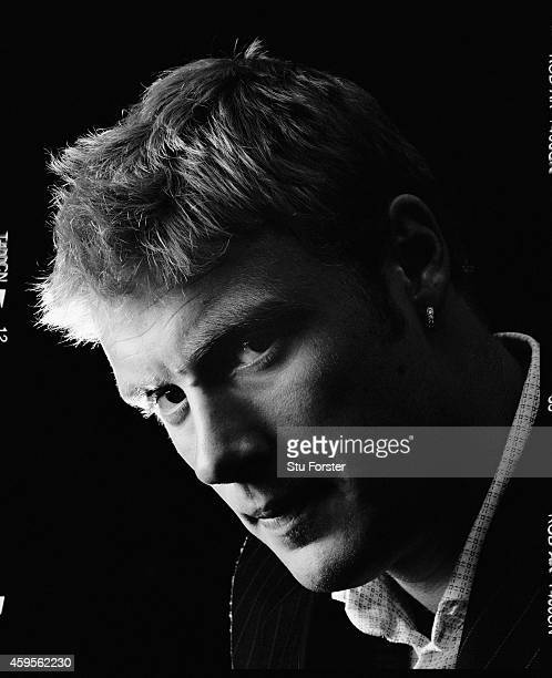 England all rounder Andrew Flintoff pictured at Old Trafford in April 2003 in Manchester England