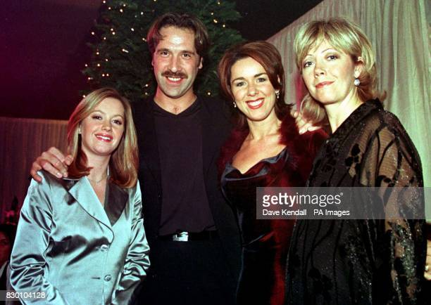 England and Arsenal keeper David Seaman met cast members from the Channel Four soap Brookside on the set in Liverpool yesterday He is due to make a...