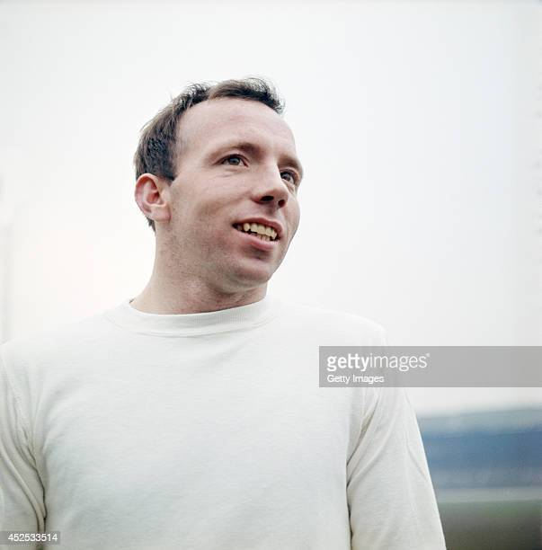 England and Manchester United player Nobby Stiles circa 1965 Stiles was part of the 1966 England World Cup winning team