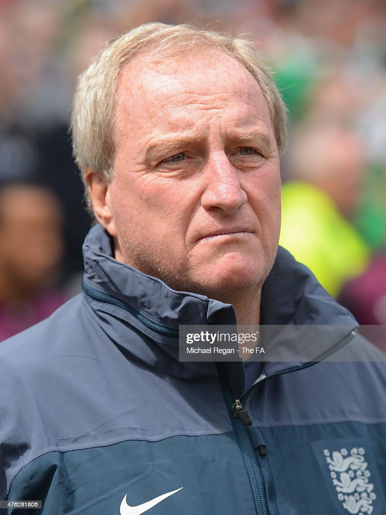 England assistant manager <a gi-track='captionPersonalityLinkClicked' href=/galleries/search?phrase=Ray+Lewington&family=editorial&specificpeople=224730 ng-click='$event.stopPropagation()'>Ray Lewington</a> looks on during the international friendly match between Ireland and England at the Aviva Stadium on June 7, 2015 in Dublin, .