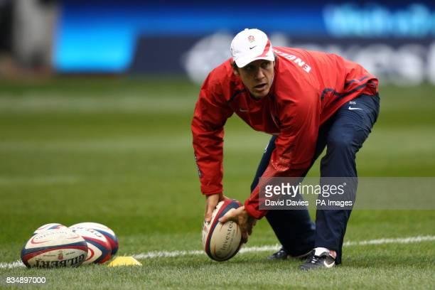 England attack coach Brian Smith