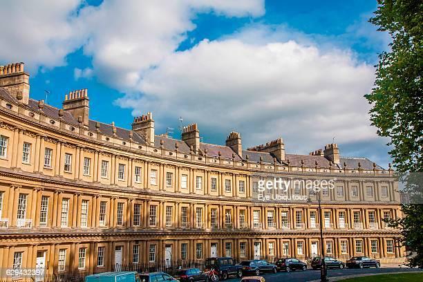 England Bath Royal Cresecent Georgian houses