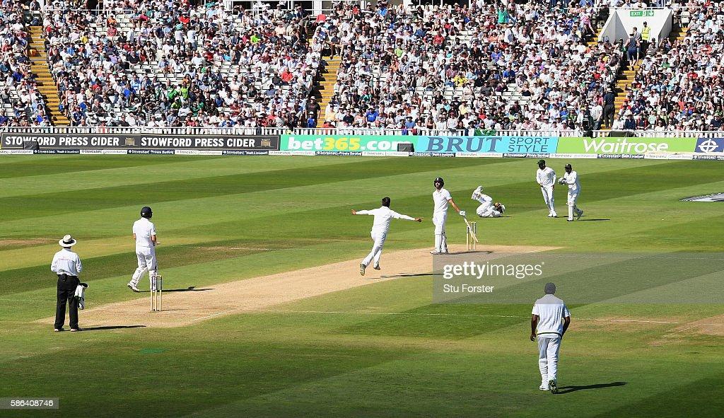 England v Pakistan: 3rd Investec Test - Day Four