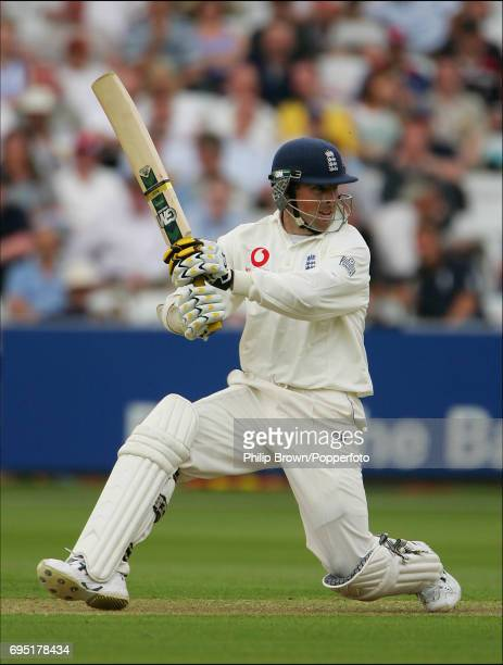 England batsman Marcus Trescothick batting during the 1st Test match against Bangladesh at Lord's Cricket Ground in London on May 26th 2005