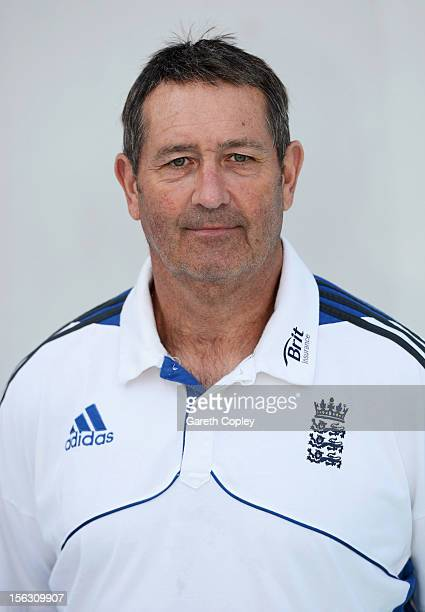 England batting coach Graham Gooch poses for a portrait on November 13 2012 in Ahmedabad India
