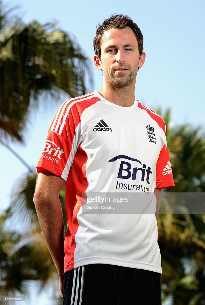 England bowler Graham Onions poses for a photograph at the team hotel on January 10 2012 in Dubai United Arab Emirates