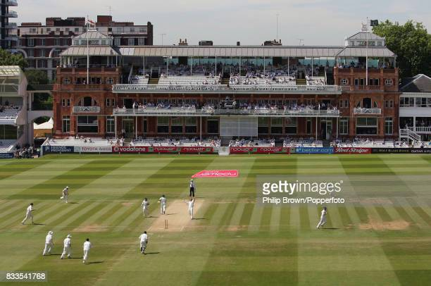 England bowler Matthew Hoggard gets Pakistan opening batsman Salman Butt out LBW with the first ball of the second innings of the 1st Test match...
