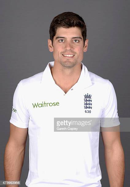England captain Alastair Cook poses for a portrait at Lord's Cricket Ground on May 19 2015 in London England