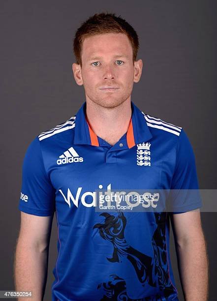 England captain Eoin Morgan poses for a portrait at Edgbaston on June 8 2015 in Birmingham England