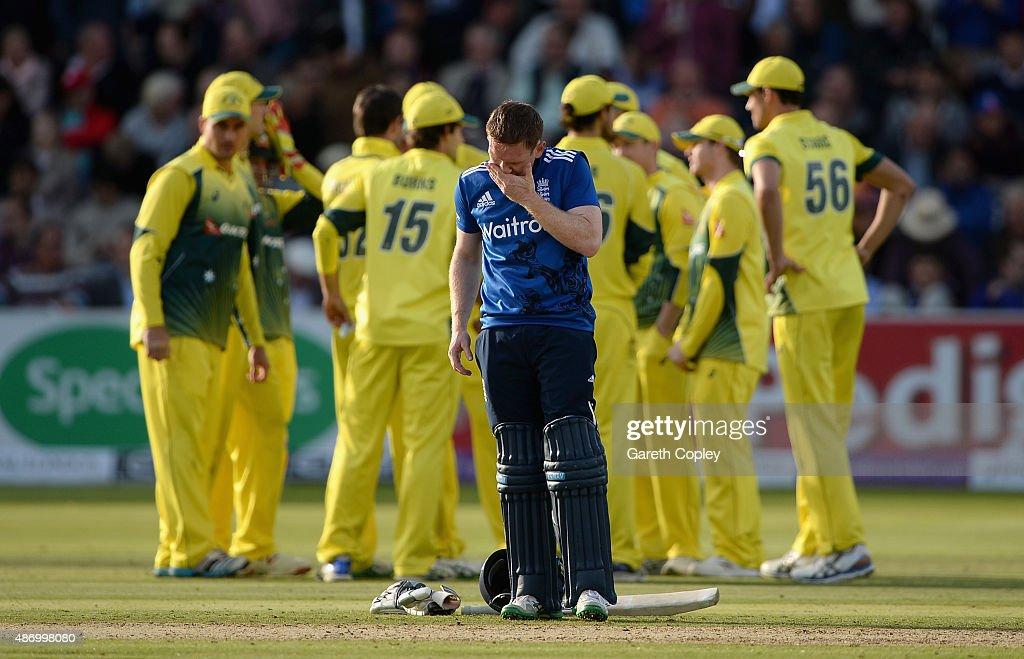 England v Australia - 2nd Royal London One-Day Series 2015