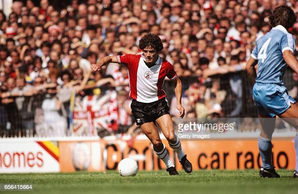Kevin Keegan Southampton Home debut 1980 : ニュース写真