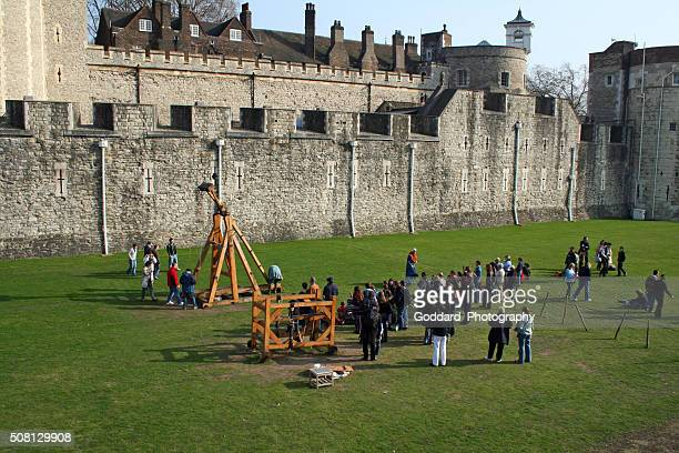 England: Catapult at the Tower Of London