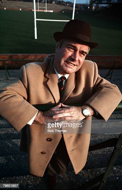 England Circa 1970's BBC Sports Commentator Eddie Waring