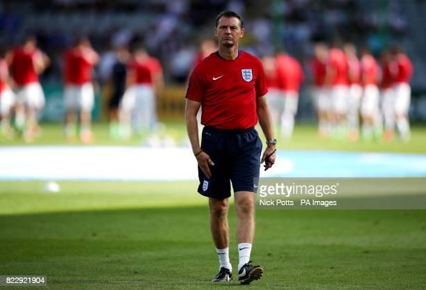 England coach Aidy Boothroyd