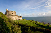 England, Cornwall, St Mawes Castle