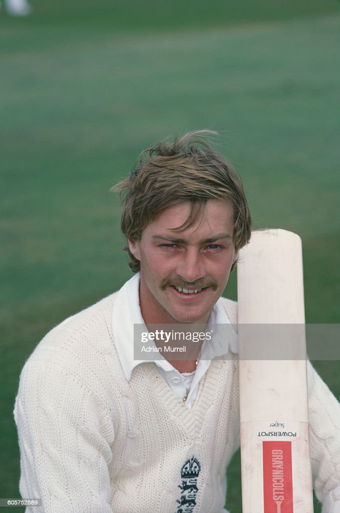 England cricketer Graeme Fowler at Headingley Leeds for the 3rd Test against Pakistan 26th 31st August 1982