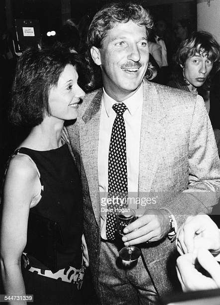 England cricketer Ian Botham and his wife Kathy attending the 25th anniversary celebration of Amnesty International London May 30th 1986