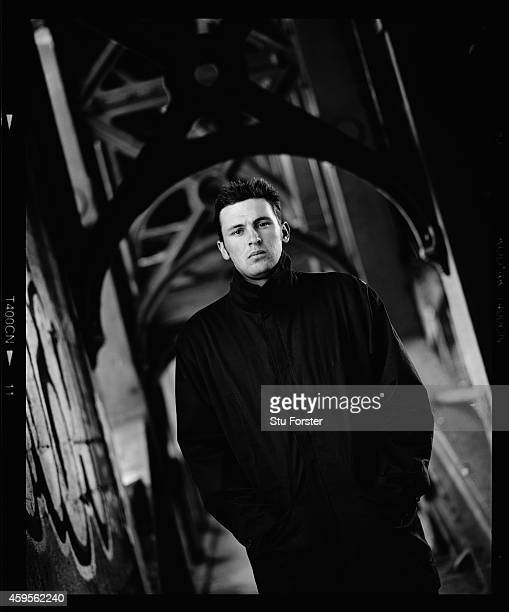 England fast bowler Steve Harmison pictured in April 2003 in Newcastle England