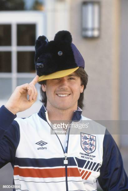 England footballer Terry Fenwick relaxes at the Broadmoor Hotel in Colorado Springs USA The England team are staying there as they try to acclimatise...