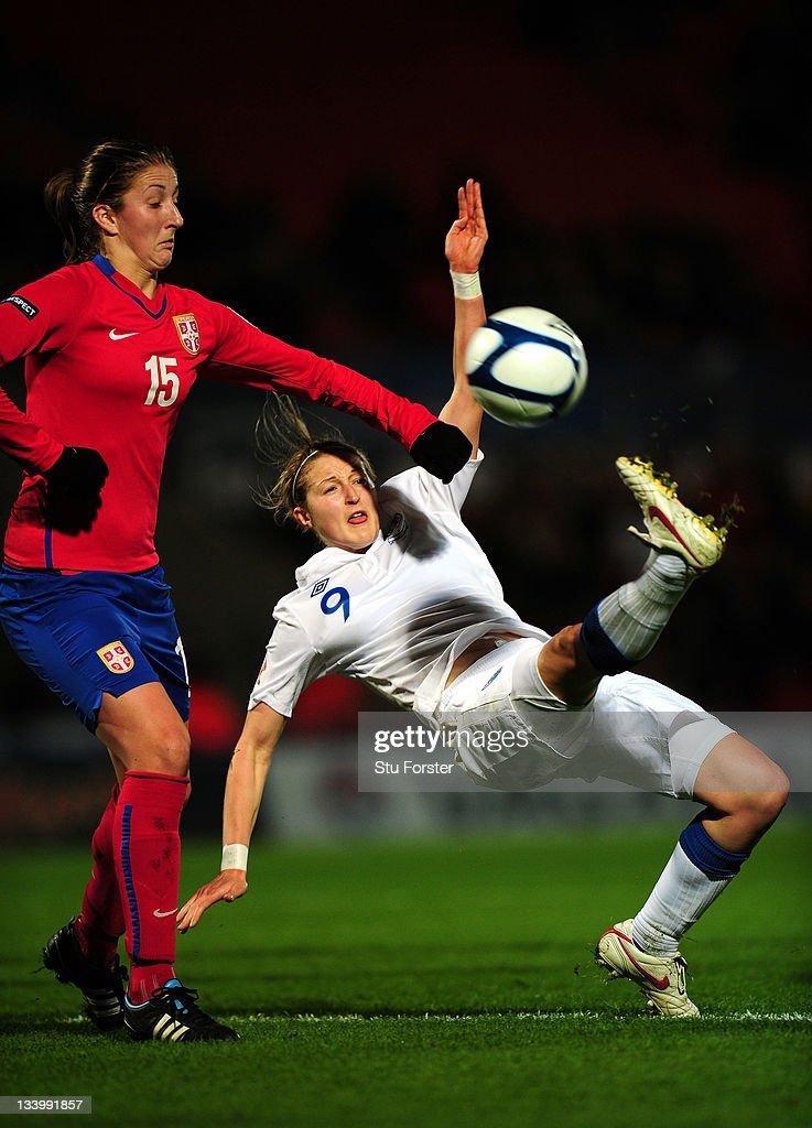 England v Serbia  - UEFA Women's EURO