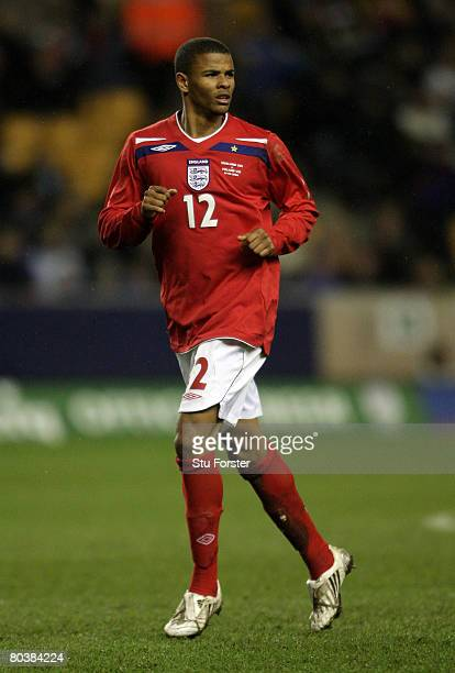 England forward Fraizer Campbell makes a run during the Under21 International Friendly between England and Poland at Molineux on March 25 2008 in...