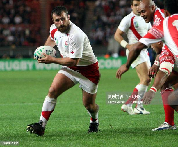England front row George Chuter in action against Tonga at the Parc des Princes Paris 28th September 2007 Picture David Jones/PA