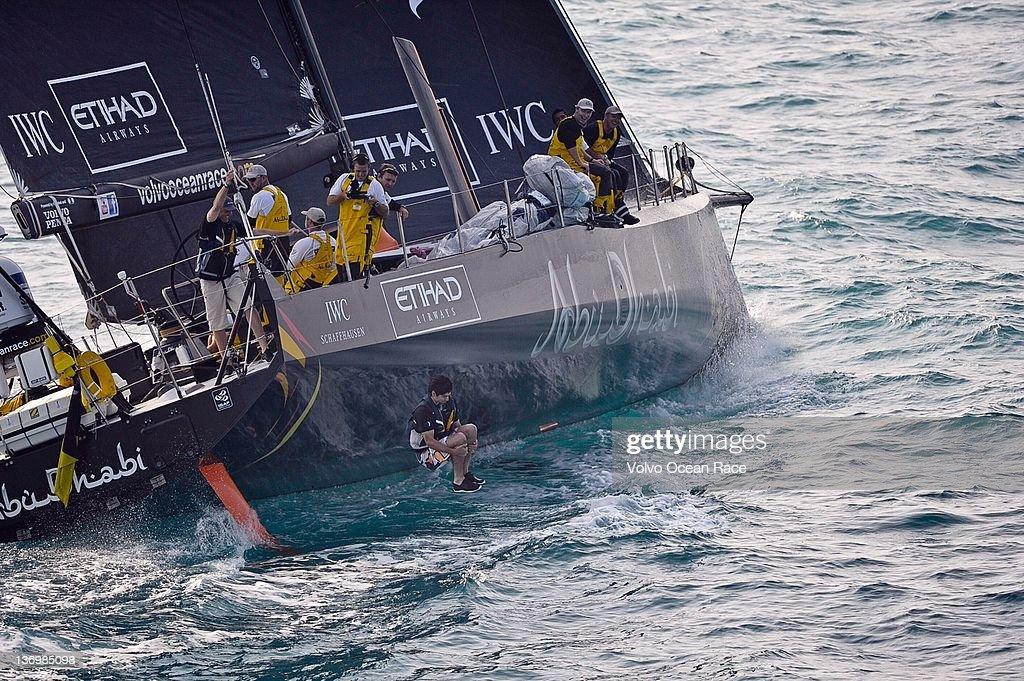 Leg 3 - Abu Dhabi To Sanya - Volvo Ocean Race 2011-2012