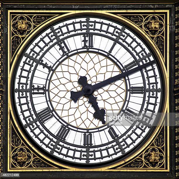 UK, England, London, Big Ben clock face