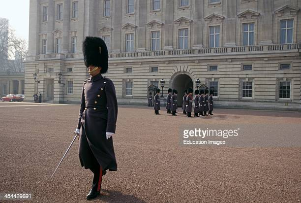 England London Changing Of The Guard At Buckingham Palace