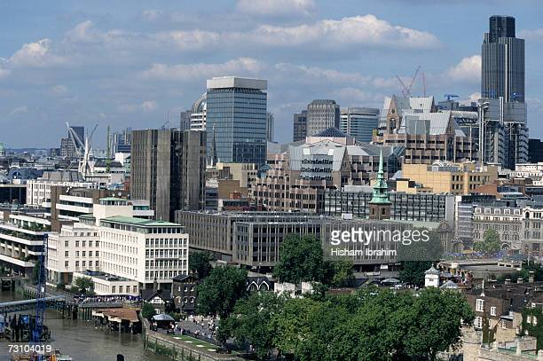 England, London, financial district