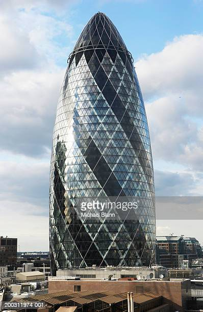 England, London, Sir Norman Foster Building