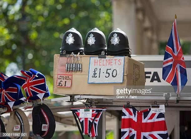 England, London, souvenir display