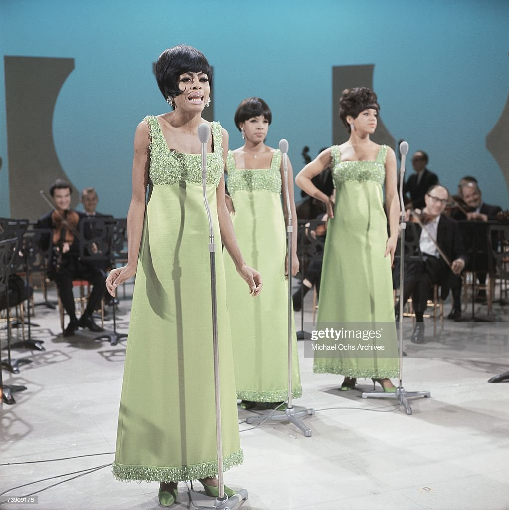 1965 England London Supremes LR Florence Ballard Mary Wilson Diana Ross